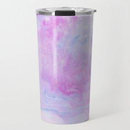 Violet marble Travel Mug