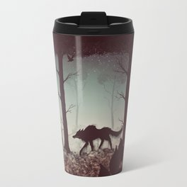 Wolf Parade Travel Mug