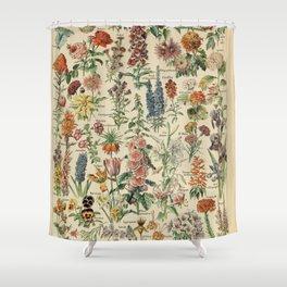 Fleurs A / Le Larousse pour tous Shower Curtain