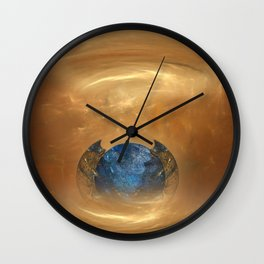 Birth of a planet Wall Clock