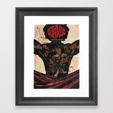 Django Framed Art Print