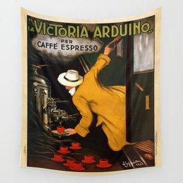 Vintage poster - Vitctoria Arduino Wall Tapestry
