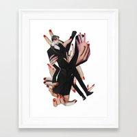 boys Framed Art Prints featuring BOYS by Luca Mainini