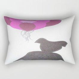 Ode to Audrey Rectangular Pillow