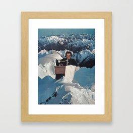 Needlewoman Framed Art Print