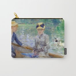 Berthe Morisot - The Lake in the Bois de Boulogne (1879) Carry-All Pouch