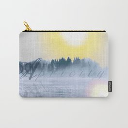 Apricity, Warmth of Winter Sun Carry-All Pouch