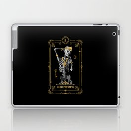High Priestess II Tarot Card Laptop & iPad Skin