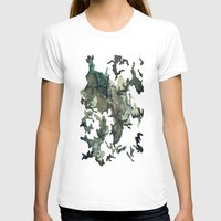woodland T-shirts featuring Woodland by Sander Smit