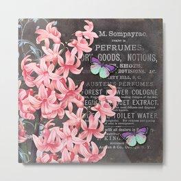 Vintage Flowers #1 Metal Print