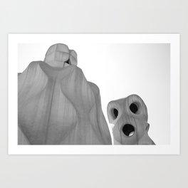 Goudy 1 Art Print