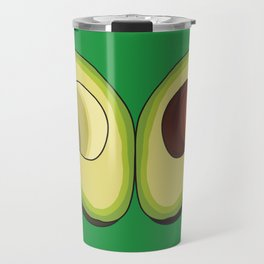 Avocado Heart Travel Mug