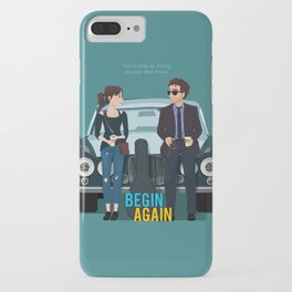 Begin Again iPhone Case