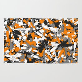 Urban alcohol camouflage Rug