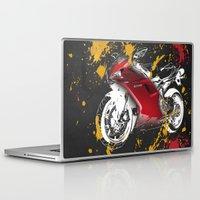 ducati Laptop & iPad Skins featuring Ducati 1098 2008 by Larsson Stevensem