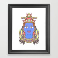 Shiva Framed Art Print
