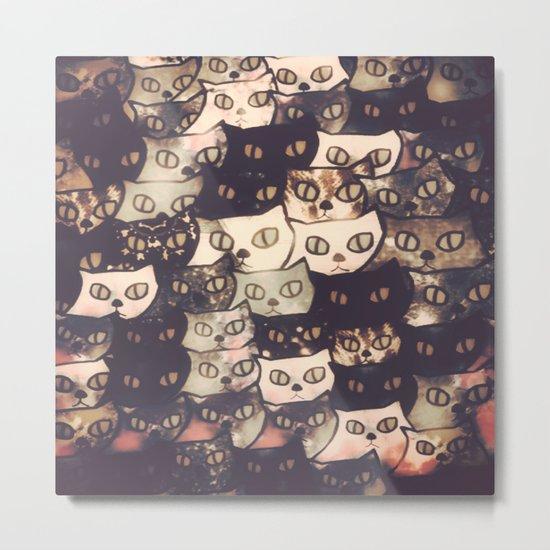 cat-286 Metal Print