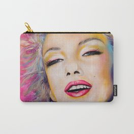 Graffiti tribute to Marilyn original painting Carry-All Pouch