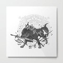 Wolflink Metal Print