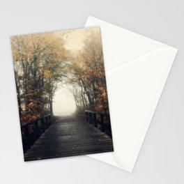 Walk into infinity Stationery Cards