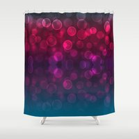 splash Shower Curtains featuring Splash by Aloke Design