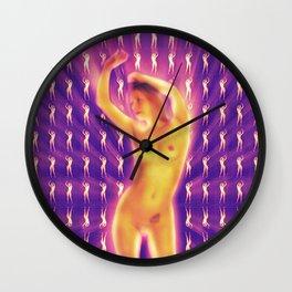 Erotic Dancer Wall Clock
