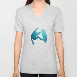 Ride the waves - surfing Unisex V-Neck