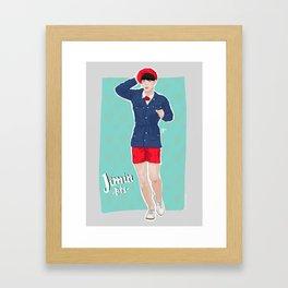 Jimin -BTS- Framed Art Print