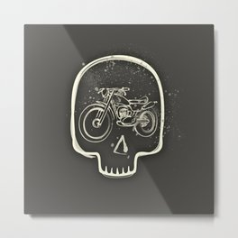 No ride, no life Metal Print