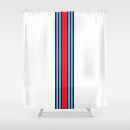 Racing Livery theme Shower Curtain
