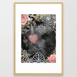 Paris Bling Framed Art Print