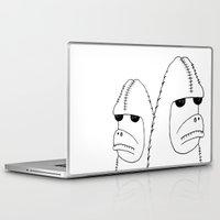 sasquatch Laptop & iPad Skins featuring Sasquatch by NarwhalWolf