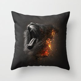 XTINCT x Lion Throw Pillow