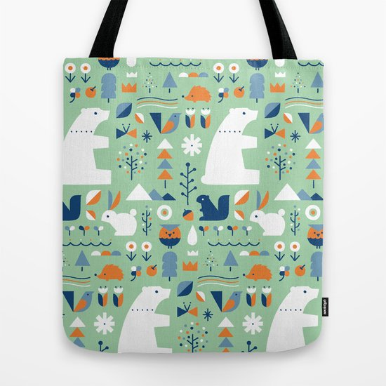 Children/'s tote bag animals of the forest