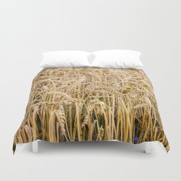 Golden Wheat Duvet Cover