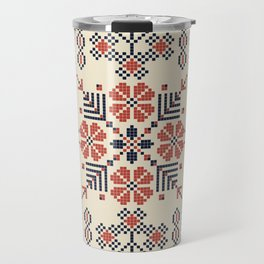 Embroidery from Palestine Travel Mug