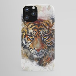 Tigers Eyes iPhone Case