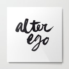 Alter Ego #3 Metal Print