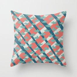 Simple Sharcs Throw Pillow