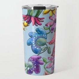 I Love the Flower Girl Travel Mug