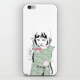 BubbleGirl iPhone Skin