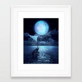 Set Adrift Framed Art Print