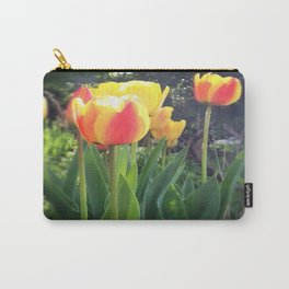 Spring Tulips in Bloom Carry-All Pouch