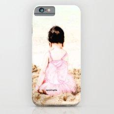 Baby at Beach iPhone 6s Slim Case