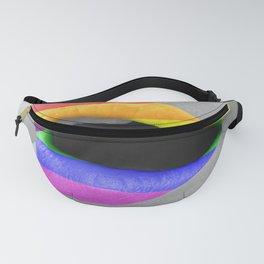 Rainbow Lipstick Fanny Pack