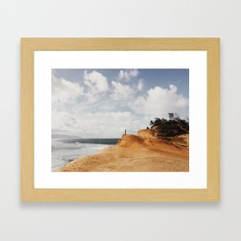 Look to the West Framed Art Print