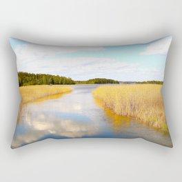 View From The Bridge - version #2 Rectangular Pillow