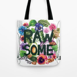 Rawsome - Plant Power Tote Bag
