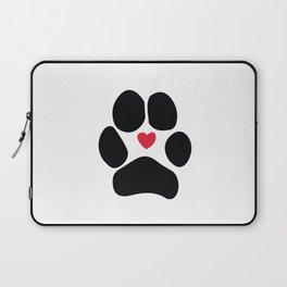Dog Paw Laptop Sleeve