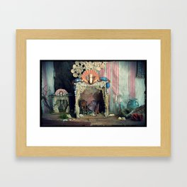 Faery Theatres Framed Art Print
